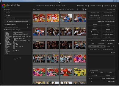 Darktable, la alternativa a Lightroom